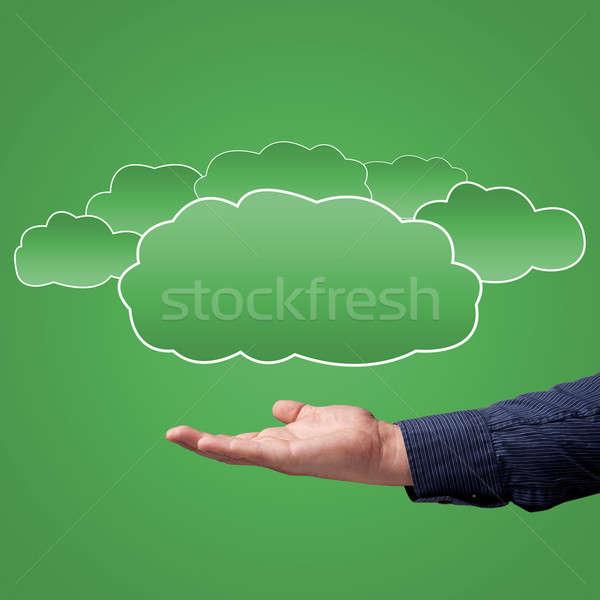 choice concept of cloud computing Stock photo © adam121