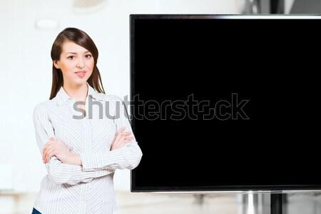 portrait of attractive business woman Stock photo © adam121