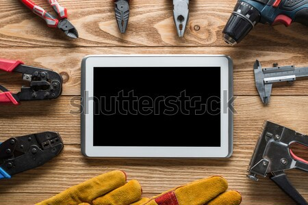 Tamir hizmet talep araçları oluşturucu Stok fotoğraf © adam121