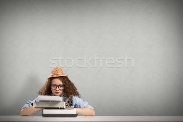 woman writer Stock photo © adam121
