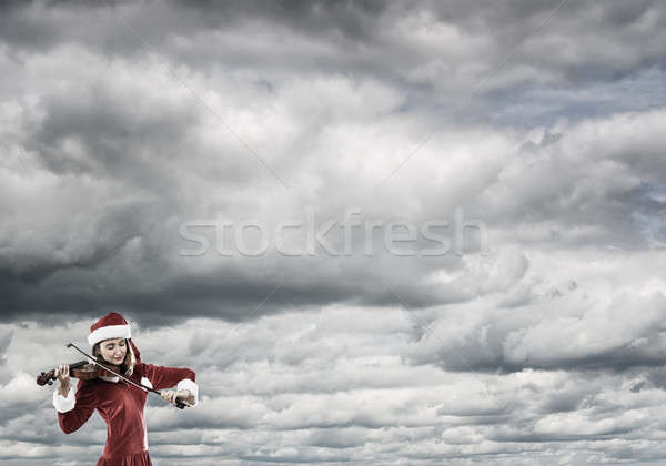 Melody of Christmas coming Stock photo © adam121
