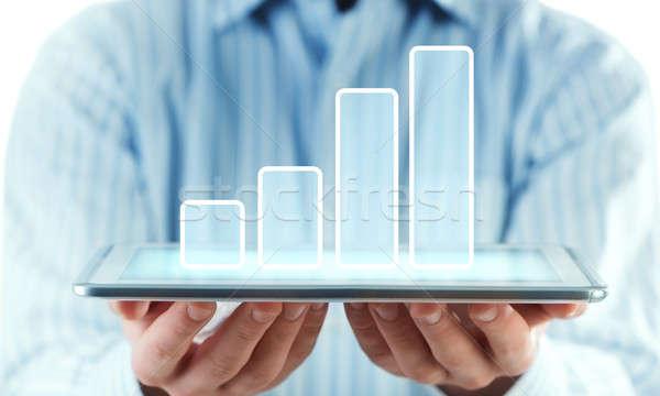 My financial report Stock photo © adam121