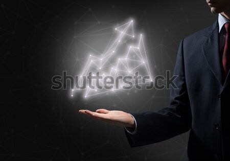 доллара валюта символ бизнесмен Сток-фото © adam121