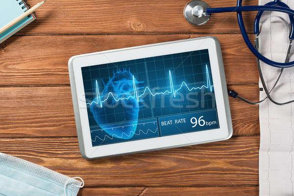 Digital technologies in medicine Stock photo © adam121