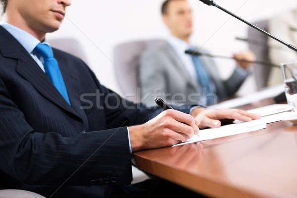 businessman taking notes Stock photo © adam121