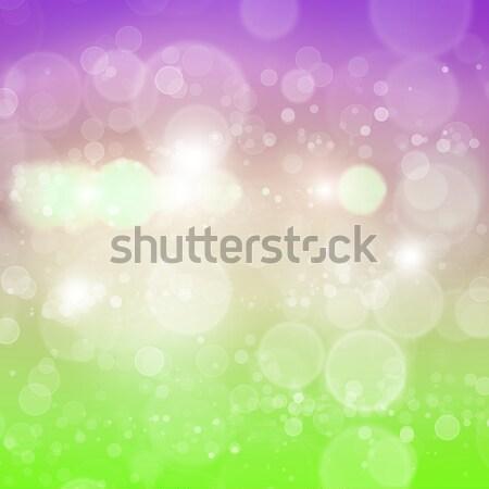 Bokeh résumé couleur floue lumières ciel Photo stock © adam121