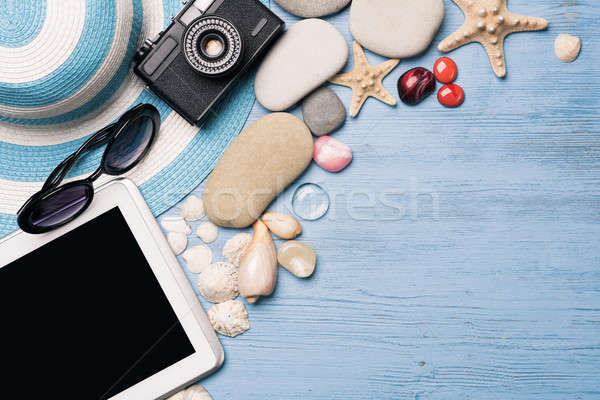 Summer objects for vacation Stock photo © adam121