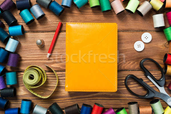 Stock photo: Items for sewing or DIY