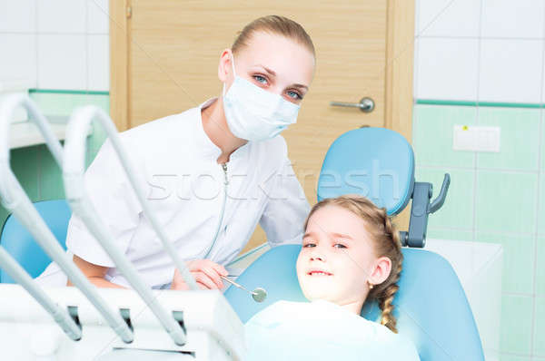 visiting the dentist Stock photo © adam121