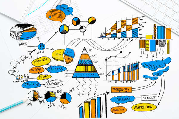 Plan for profitable business Stock photo © adam121