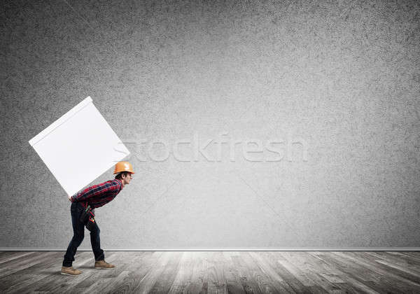 Delivery service concept Stock photo © adam121