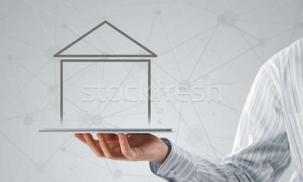 Real estate and property sales Stock photo © adam121