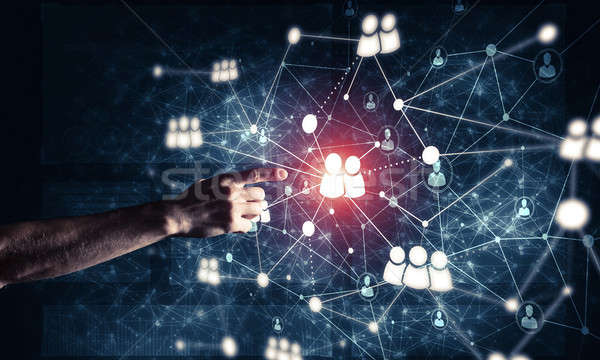 Creating modern wireless technologies as means of communucation  Stock photo © adam121