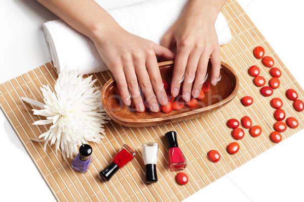 Hands Spa. Manicure concept Stock photo © adam121