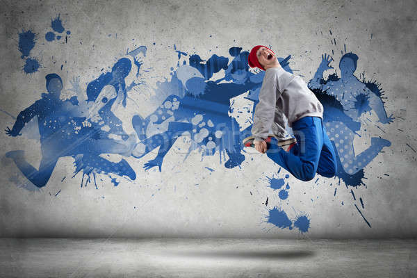 Hip hop dancer Stock photo © adam121