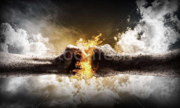 Conflict concept Stock photo © adam121