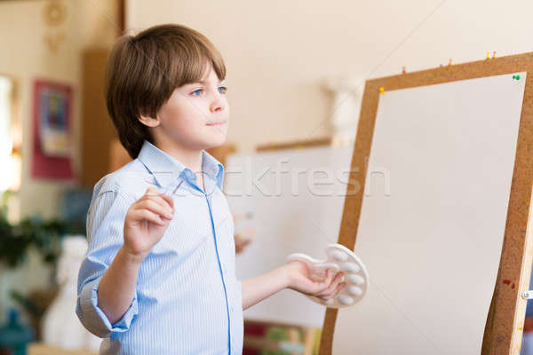 drawing lesson Stock photo © adam121
