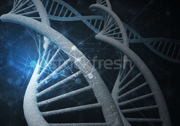 DNA molecules background Stock photo © adam121
