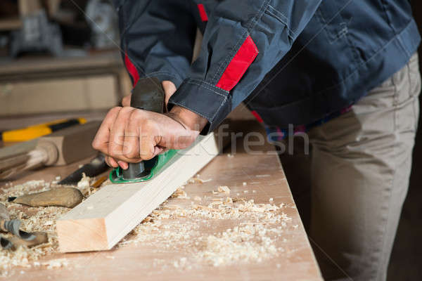 Carpenter at work Stock photo © adam121