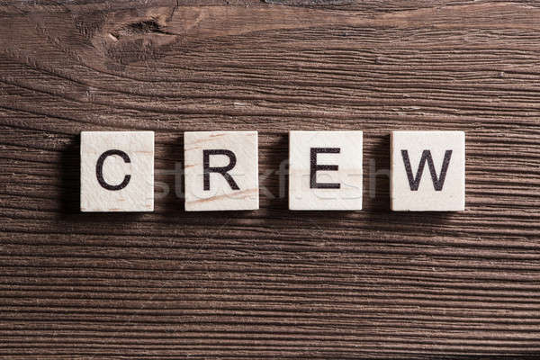 Concept of crew and team in business Stock photo © adam121