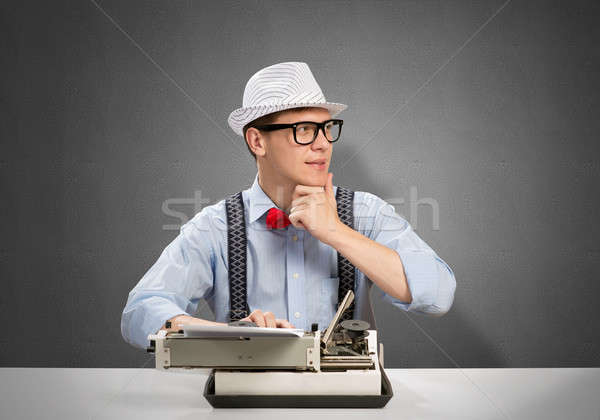 Man writer Stock photo © adam121