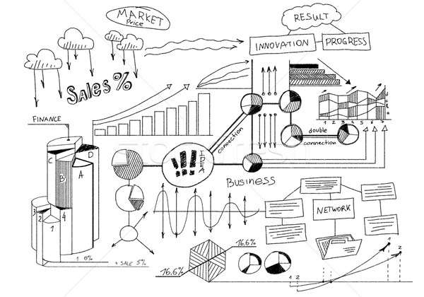 Business planning Stock photo © adam121