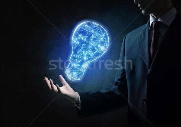 Bright idea for success achieving Stock photo © adam121