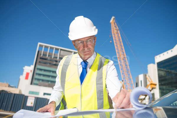Senior engineer Stock photo © adam121