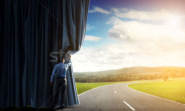 New routes and opportunities Stock photo © adam121