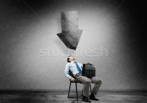 Businessman under pressure Stock photo © adam121