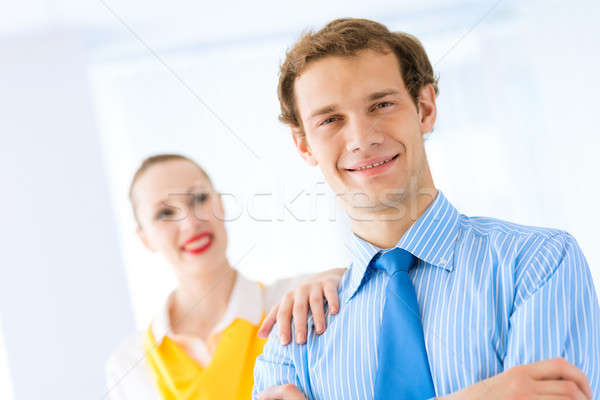 successful businessman, his arms crossed Stock photo © adam121