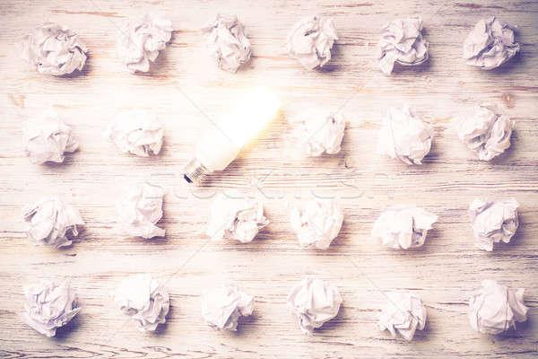 Your outstanding bright idea Stock photo © adam121