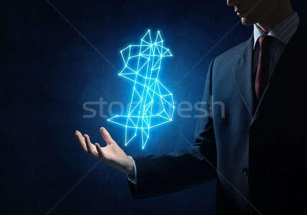 доллара валюта символ тесные бизнесмен стороны Сток-фото © adam121