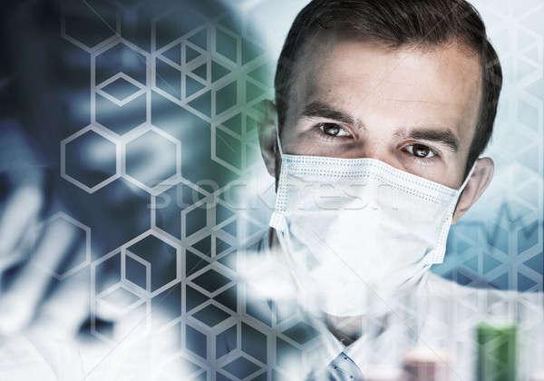 小さな 科学 ガラス 臨床の ストックフォト © adam121