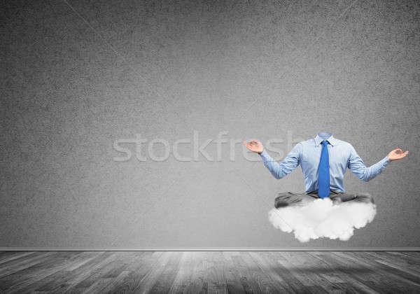 Businessman without head Stock photo © adam121