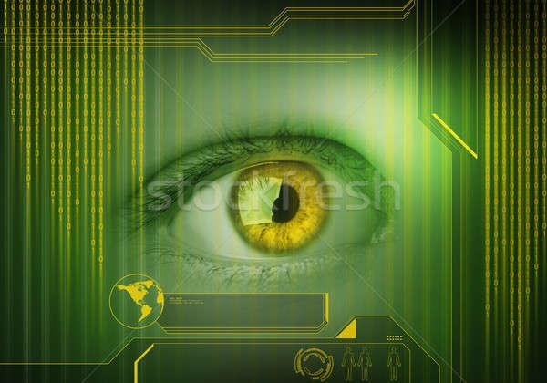 Person identifation Stock photo © adam121
