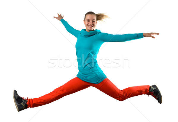Young woman dancer Stock photo © adam121