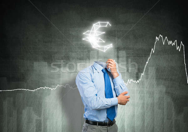 He is always thinking about money Stock photo © adam121