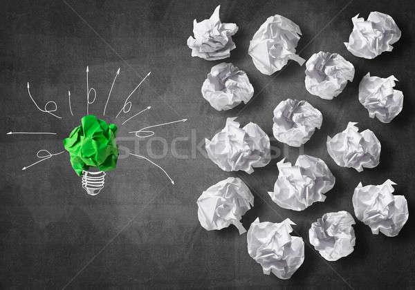 поиск Идея вдохновение бумаги Сток-фото © adam121