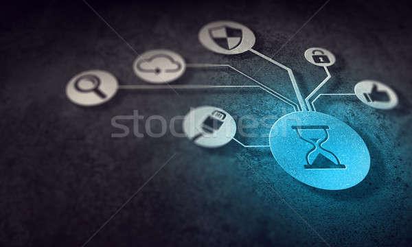 Social media communication Stock photo © adam121
