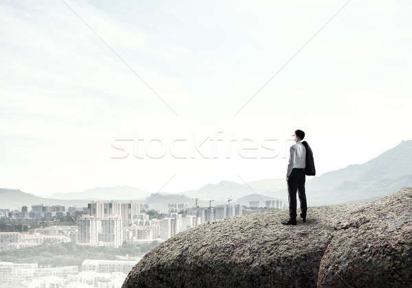 Achieving top of success Stock photo © adam121
