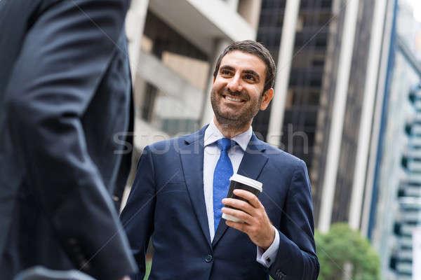 Business break Stock photo © adam121