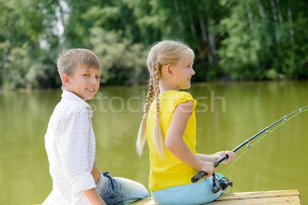 Summer fishing Stock photo © adam121