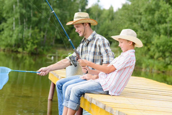 Summer angling Stock photo © adam121