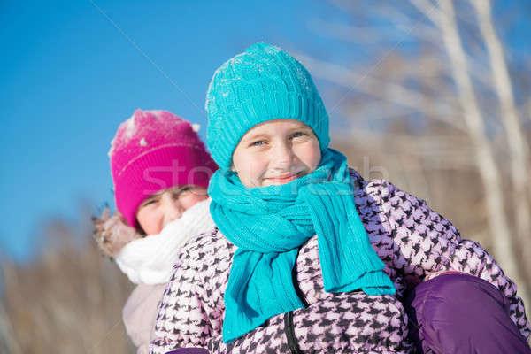 Winter activity Stock photo © adam121
