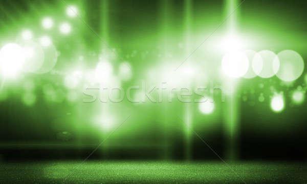 Etapa luces imagen borroso luz disco Foto stock © adam121