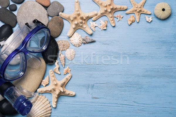 Summer vacation background Stock photo © adam121