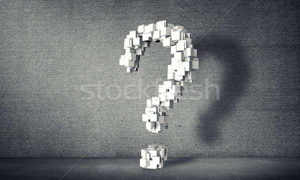 Big question mark Stock photo © adam121