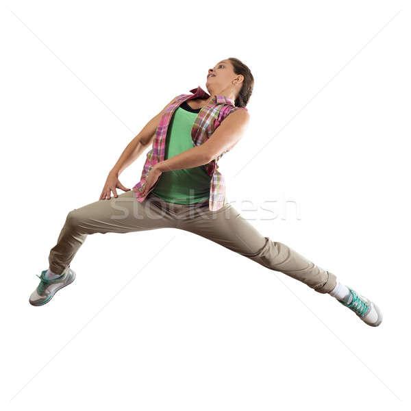 хип-хоп танцовщицы молодые довольно девушки Перейти Сток-фото © adam121