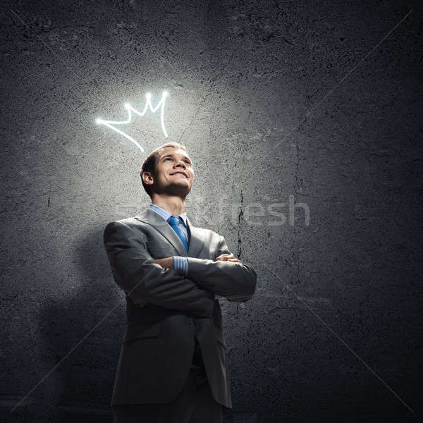Business king Stock photo © adam121